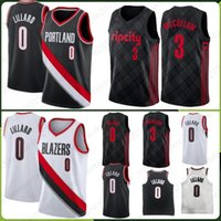 Wholesale cj jersey resale online - Portland Damian Trail Lillard Jersey McCollum CJ Jersey Rodman Dennis Thomas Isiah Pistons Stitched Jerseys Fast