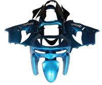 kawasaki zx9r kits de carenado personalizados al por mayor-Nuevo kit de carenados ABS para Ninja Kawasaki ZX9R 1998 1999 carenado ZX-9R 98 ZX 9R 99 Gratis Personalizado azul cielo