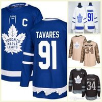 08cf965bd12 Mens Lady Kids Custom 91 Tavares Toronto Maple Leafs 29 William Nylander 31  Frederik Andersen 34 Matthews Mitch Marner Hockey Jersey
