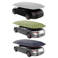 корпус из углеродного волокна оптовых-450 * 230 Cm Автомобиль ВС Shade автомобилей Изоляция Hood Зонт брезент Водонепроницаемый пылезащитный UV защитные крышки Авто занавес