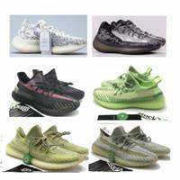 ingrosso scarpe da corsa in camo-380 scarpe nuove v3 Alien camo uomini bianchi in gomma nera fondo statico v2 Designer pattini correnti delle donne Scarpe Sneakers formato 36-48