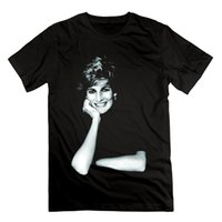 Wholesale posters women for sale - Group buy Men T shirt Princess Diana Smile Posters funny t shirt novelty tshirt women
