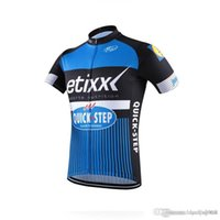 Wholesale etixx jersey resale online - 2018 Etixx Quick step Mens Cycling Jersey short sleeve Jersey Bicycle Breathable cycling clothes Bicycle Clothing summer MTB Bike wear AHP01