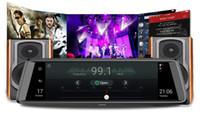 lente de zoom de vídeo al por mayor-ADAS Cámara DVR para el coche 4G Grabadora de video Android Lente Dual FHD 1080P Navegación GPS Dashcam Retrovisor del coche DVR