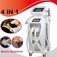 Wholesale anti aging hair online - Elight beauty equipment new style OPT SHR IPL elight RF yag laser Multifunctional elight anti aging wrinkle machines rf skin care in home