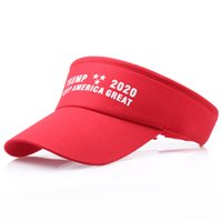 Wholesale men spring hats for sale - Group buy Keep America Great Hats Donald Trump Letter Print Sun Caps For Summer Men Women Outdoor Sports Baseball Hats Visor A32007