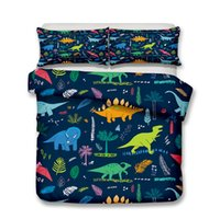 Wholesale pillowcase children bedding for sale - Group buy Thumbedding Dropship Dinosaur world Bedding Sets for Kids Children Twin Full Queen King D Duvet Cover Set with Pillowcase