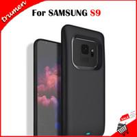 caisse de puissance pour samsung achat en gros de-Caisse de batterie d'origine Samsung S9 pour Galaxy S9 Plus Power Case Pack de sauvegarde Power Bank de charge 4700mAh 5200mAh