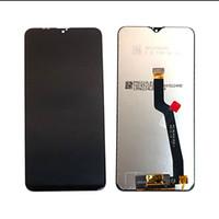 digitalização lcd substituição samsung galaxy venda por atacado-6.2 Display LCD Assembléia digitador para Samsung Galaxy A10 A105 SM-A105F / DS Peças de reposição Preto