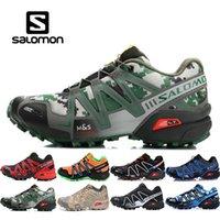 Wholesale male massage online - Salomon Mens bule Orange SENSE Male Shoes Outdoor Jogging Sneakers womens Lace Up Athletic Shoes High Quality Fencing Shoes