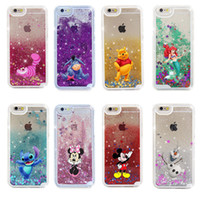 Wholesale dynamic liquid cases for sale – best Dual Gel Cute Dynamic Cartoon Bling Quicksand Liquid Flowing Glitter Star TPU PC Phone Case Cover Shell For iPhone Plus X XS XR XS Max