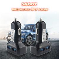 gps zaun großhandel-Autoladegerät SG007 GPS + AGPS + LBS + WIFI GPS Tracker Automatische Zeitaktualisierung Geo-Zaun Voice Monitor Fernbedienung