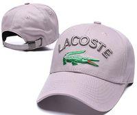 en kaliteli polo toptan satış-Moda Beyzbol Şapkası Lüks tasarımcı Snapback Kapaklar Nakış Timsah Topu Şapka Yüksek Kalite Yeni Yaz Açık kemik casquette Güneş polo Şapka