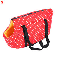Wholesale small outdoor cat house for sale - Group buy Shoulder Sleeping Gift Small Puppy Cat Outdoor Portable Zipper Travel Carrier House Pet Bag Fashion Foldable Elastic Sponge