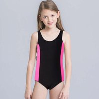 WUAI Baby//Toddler Girls Swimsuit Stripe Cartoon Printed Romper Swimwear One Piece Bathing Suit