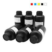 importa telefono al por mayor-Tinta UV LED importada de 500 ML para impresoras de inyección de tinta UV Uso de tinta de impresora de 5 colores para estuche de teléfono, madera, metal, acrílico, vidrio, TPU