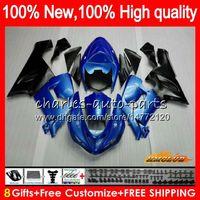Wholesale fairings pearl white for sale - Group buy Body For KAWASAKI ZX ZX R CC R ZX636 HC pearl blue ZX CC ZX6R ZX600 ZX ZX R Fairing kit