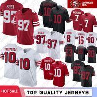 1eebfddca 97 Nick Bosa 10 Jimmy Garoppolo San Francisco 49ers Jerseys 7 Colin  Kaepernick McGlinchey 56 Reuben Foster 80 Jerry Rice 16 Montana