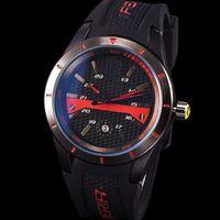 женские наручные часы оптовых-2019 Горячие Продажи Ferrari Спортивные Женские Мужские Часы Высокого Качества Кварцевые Наручные Часы Силиконовые Ремешки Часы С Подарочной Коробке