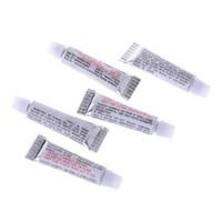 reparación de inflables al por mayor-5 unids PVC Adhesivo Inflable Reparación de Tubo de Pegamento Parche Piscina Barco de Yoga Bola de Reparación de Accesorios A0425