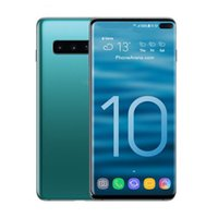 ingrosso touch sim mobile-Goophone S10 S10 + 6,3 pollici MTK6580 Cellulare sbloccato Quad Core Android 7.0 1G Ram 8G Rom smart phone mobile falso 4G