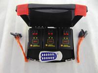 control remoto inalámbrico de fuego al por mayor-6 Cues Envío gratis, un juego / lote sistema de disparo remoto cable de cobre 433 mhz máquina de fuegos artificiales Control remoto inalámbrico Salvo fuego Interruptor de CA