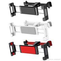 регулируемая опорная таблетка оптовых-Baseus Универсальный автомобильный держатель, регулируемый, растягивающийся, заднее сиденье, подголовник, кронштейн для мобильного телефона / планшета