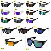 ultraviyole camlar toptan satış-Yeni Stil Gözlük polarize güneş gözlüğü UV400 sürücü Moda Açık Havada Spor Ultraviyole koruma gözlükleri 16 renkler MMA1661