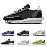 zapato deportivo mujer gris al por mayor-nike Sacai LDV Waffle Daybreak zapatillas para hombre mujer diseñador zapatillas de lujo Green Gusto Varsity Blue mens trainer moda calzado deportivo