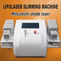 körper abnehmen pulsierende maschine großhandel-Lipo Laser Körper Abnehmen Maschine Lipo Laser Slim Lipo Maschinen zum Verkauf Diodenlaser niedriger Intensität 130mw-350mw (Impuls)