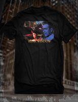 janelas de filmes venda por atacado-Novo Preto Janela Traseira Hitchcock Filme T-Shirt James Stewart Graça Kelly Filme Tee