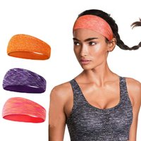 équipement de basketball achat en gros de-Mounchain 5pcs Hommes Femmes Bandeau De Survêtement Bandeau De Course Running Yoga Vélo Danse Équipement De Fitness Fitness Volleyball Basketball Bande De Cheveux