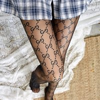 üst tulumlar toptan satış-Tulum çorap MS Ultra-ince Anti-sıyırma Et mektubu Külotlu çorap moda Seksi Çorap yeni stil toptan