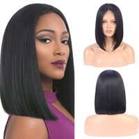 Wholesale colors for ombre hair for sale - Group buy Bob Wigs Brazilian Straight Short Lace Front Human Hair Wigs For Black Women Pre Plucked With Baby Hair ombre Remy Hair bob wig