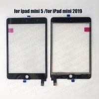 substituição do mini digitalizador do ipad da maçã venda por atacado-Tela 30PCS Touch Panel Vidro com digitalizador substituição para iPad Mini 5 5 2019 A2124 A2126 A2133 livre DHL