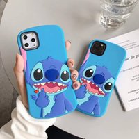 Wholesale phones cases for iphone 5c for sale – best 3D Cartoon Cute Slim Stitch Silicone Back Cover For iPhone s SE C s X XR Xs Pro Max Plus Phone Cases Fundas Coque
