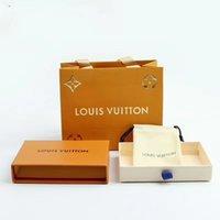 ingrosso bracciali anelli collane-Scatole di gioielli di marca arancione di marca calda di vendita calda set scatole di anelli di collana di braccialetti con sacchetti di carta e scatole da collo confezionate in confezione regalo