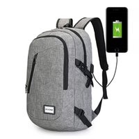 Wholesale Travel Laptop Backpack Business Anti Theft Slim Durable with USB Charging Port Water Resistant College School Computer Bag and Notebook