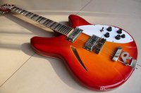 Wholesale electric guitar 325 for sale - Group buy New Rick Model Electric Guitar Top Quality In Cherry Red