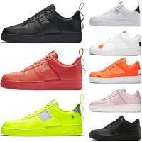 sapatos freeshipping venda por atacado-Nike air force 1 um 1 tênis para mulheres dos homens branco preto orange rosa vermelho tênis esportivos Mens Sapatilhas Sapatilhas Sapatos freeshipping