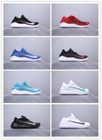 Wholesale black table tennis shoes for sale - Group buy 2019 New Arrival Knitted Breathable Mesh Running Shoes Mens Women High Quality Multicolor Fashion Sports Jogging Sneakers SIZE
