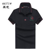 serbest boyut tişörtü toptan satış-ücretsiz kargo! Yeni Marka Tasarımcısı T Gömlek Erkek Giyim Rahat T Shirt Erkekler Için Mektuplar Baskılı TShirt Boyut M-2XL