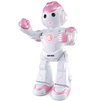 Wholesale toys record voices resale online - Smart singing and dancing Voice conversation Recording interaction boys girls electric remote control robot educational toys
