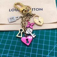 Wholesale keychains good quality for sale - Group buy Fashion Steeless Key Chain Tassel Love Heart Key Ring Car Bag Keychain For Women Jewelry Accessories Gift Good quality Keychains tag