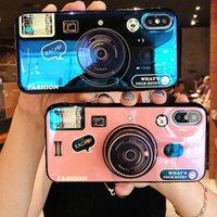 ingrosso applicazioni di luce-Applicazione di INS net rosso Per XiaoMi 5s Plus 5 6 x guscio per telefono cellulare Mi 8 se luce obliqua retro fotocamera blu-luce fotocamera