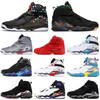 Rabatt Nike Air Jordan 8 High Heels Damen Schuhe Schwarz
