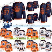 çocuklar gretzky mayo toptan satış-2019-2020 Edmonton Oilers Çocuklar (Gençlik) Formalar 97 Connor McDavid 99 Wayne Gretzky 29 Leon Draisaitl 93 Ryan Nugent-Hopkins Hokeyi Formalar