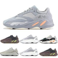 best sneakers 5881c 0b75b Wholesale Top INERTIA Kanye West Wave Runner Static M Reflective Mauve  Solid Grey Sports Running Shoes