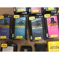 clips recouverts de silicone achat en gros de-Navette Defneder Symmetry pour iphone 7 8 Plus iphone X S8 S9 plus Note 8 S8 + S9 + armure acier