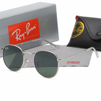 dbfcd86ee0 Wholesale ray bans online - 2019 Men Women Ben Glass bain Lenses With Case  Ray Brand